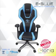 E-Blue Auroza-X1 Kursi Gaming EEC305 Gaming Chair High Grade Soft PU Leather Anti Fatigue (Non Lighting)