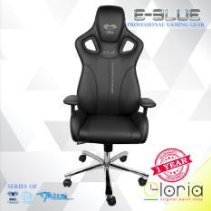 E-Blue Cobra Gaming Chair Black EEC308 - Hitam