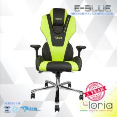 E-Blue Mazer Kursi Gaming EEC304 Gaming Chair Advanced PU Leather F1 Comfort With Adjustable Height