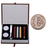 Harga Hemat E Initial Letter Vintage Alphabet Wax Badge Seal Stamp W Wax Kit Set Letter A Z Opsional
