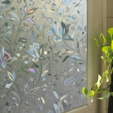 Beli Eachgo 45 100 Cm 3D Tulip Frosted Bath Kaca Film Privacy Static Cling Window Glass Film Dekorasi Rumah Intl Kredit