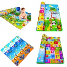 Review Tentang Eachgo Baby Children Colorful Play Carpet Mat Crawling Rug Blanket Kids Toy Birthday Gift Present S Intl
