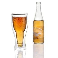 Eason Beer Glass Double Down Wall Beer Glass Berkualitas Tinggi-Intl