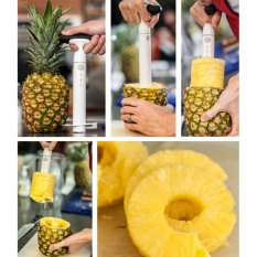 Spesifikasi Easy Slicer Pineapple Alat Pengupas Buah Nanas Alat Potong Nanas Praktis Alat Pemotong Nanas Instan Best Seller Alat Peralatan Dapur Khusus El