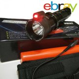 Model Ebray Senter Multifungsi Swat Led Setrum Kejut Laser Merah Terbaru