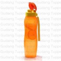 Review Toko Eco Bottle 1 Liter Orange Tali Botol Minum