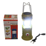Beli Eelic 3336 Hijau 1W 8 Smd Led Multifungsi Lampu Senter Camping Lentern Emergency Serbaguna Tenaga Surya Darurat Solar Cell Power Bank Cicilan
