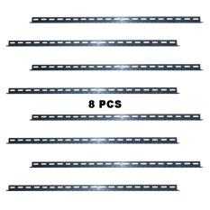 EELIC BER-100CM 8 PCS 100 CM Besi Siku Lubang Rak Serbaguna