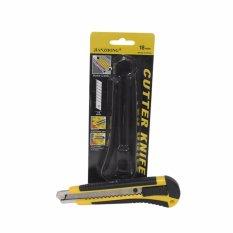 EELIC CUR-J18MM Cutter 18mm kuning Yang Tajam dan Desaign Menarik