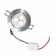 EELIC DOL-M3W  CAHAYA PUTIH 6000K Lampu  LED Downlight,Lampu Celling Drop