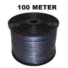 EELIC KAL-I2X30 -100M KABEL LISTRIK AUDIO SERABUT TRANSPARANT 2X30 SAMA DENGAN 2X1.0MM2 PANJANG 100 METER