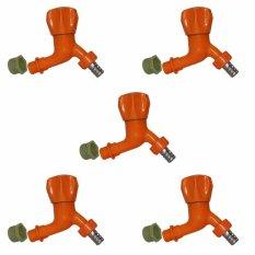 Review Toko Eelic Kjb 1003 Orange 5 Pcs Kran Jumbo Bulat Double Drat