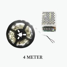 Toko Eelic Lau F3528 Mix Putih Lampu Flexible Led 240 Led Strip Light 4 Meter Dc12 Volt Ip33 Adaptor Dc12 Volt Eelic Online