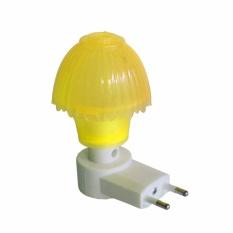 EELIC LAU-JM997 KUNING Mini Lamp Lampu Tidur Model Jamur Mungil Dimalam Hari