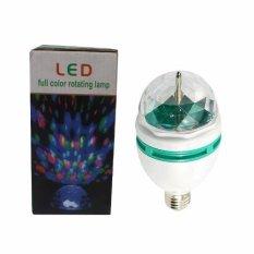 EELIC LD01 Lampu Disco LED 3 Watt Autorotate 180 Derajat Warna Warni Dugem Luar Biasa Meriah  Penuh Warna dan Semarak