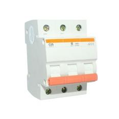EELIC MCB-M3F MCB Miniatur Circuit Breaker 3P 25A 230V AC Berkualitas