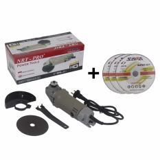 EELIC MEG-9500 Mesin Gerinda 220 Volt 570 Watt + Mata Gerinda 4 Inch 3 Pcs