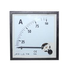 EELIC PAM-96 -A75-5 Panel AC Ampere Meter Analog Program 96 Standart Internasional Dengan Class Standart 1,5