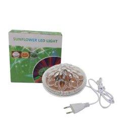EELIC SF-3A Lampu Sunflower LED Light. Lampu Hias Dinding. Disco LED Warna-warni Hemat Energi dan Mudah Pemasangannya