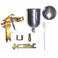 Jual Eelic Spg F75G Alat Spray Gun Air Brush Titanium Sprayer Jawa Timur
