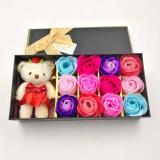 Effie Flower Gift Box Doll 12Pc Bunga Mawar Fragrance Flower Rose Unicorn Asli