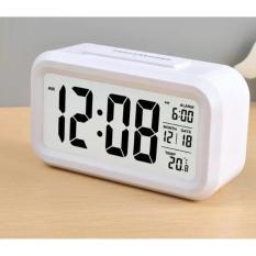 Review Eigia Jam Digital Liquid Crystal Led Alarm Waker Minimalis Watch Weeker Jam Meja Weker Waker Jp9901 Desk Clock Unik Modern Design Digitime Ada Waktu Kalender Suhu Temperatur Mudah Digunakan Putih Dki Jakarta