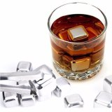 Beli Eigia Reusable Stainless Steel Ice Cube Es Batu Stainless 6 Pc Pake Kartu Kredit