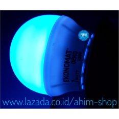 Ekonomat® LED Bulb 1W - Lampu Tidur Hias Dekorasi - Hemat Energi (Blue)