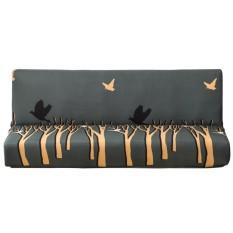 Elastic Printing Sofa Cover All Inclusive Anti Slip Home Sofa Towels Cover Accessories Olive S Intl Asli