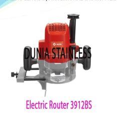 Electric Router 3912BS alat alat teknik kayu interior mebel bangunan almunium.