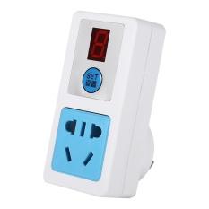 Listrik AC 220 V Hemat Energi Stopkontak Alat Penghitung Waktu Elektronik Rumah Tangga Digital Waktu-Switch (9 Jam)-Intl