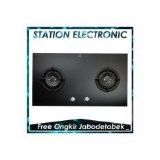 Electrolux EGT-7627CK/EGT 7627 CK Kompor Tanam Gas [Kaca Hitam]