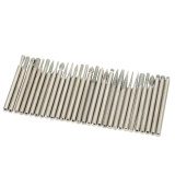 Promo Toko Electroplated Diamond Grinding Heads 30 Pcs 3Mm Burrs Bur Bit Set For Rotary Tool Set