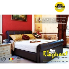Elephant Kasur Emerald Latex Foam Full Set Lengkap 180x200 - FREE ONGKIR Jabodetabek Only