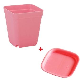 Besar terbaik membeli kejutan Elife 10 Set Permen Warna Mini Persegi Plastik Rumah Kantor Dekor Pastoral