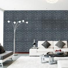 Elife Retro Batu Bata Pola Self Adhesive Tahan Air Stiker Dinding untuk Kamar Tidur Ruang Tamu Dapur Furniture 45*100 Cm (4 #) -Intl
