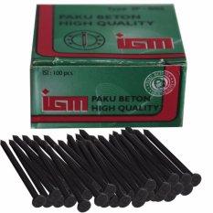EELIC PAB-3.0X40 1BOX 100PCS Paku Beton Berbahan Metal Berkualitas Tinggi
