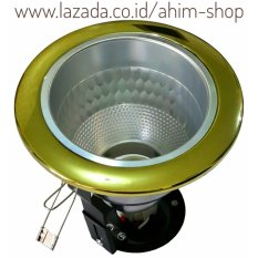 Tips Beli Eltra® Fitting Downlight 4 Inch Reflektor Silver Diamond U Lampu Pijar Lhe Bohlam Led Bulb E27 Gold