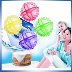 Emyli 4PCS Laundry Ball - Alat Bantu Mesin Cuci Bersih - Multicolor