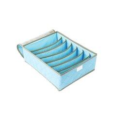 Harga Emyli Undeware Storage Box Tempat Penyimpanan Bra Pakaian Dalam Biru Branded