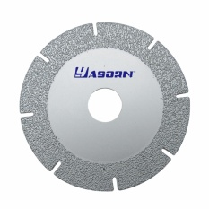EMylo 100mm Diamond Cutting Wheel Kaca Memotong Disc Basah And Kering Keramik Cutting Saw For Angle Grinder 1 Pcs -Intl