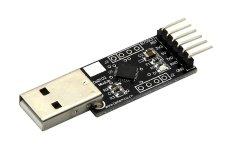 Emylo USB 2.0 Ke UART TTL 6Pin CP2102 Modul Konverter Seri untuk Download STC