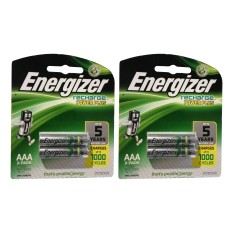 Harga Energizer 4 Pcs Rechargeable Baterry Aaa Nimh 1 2V Original Energizer Ori