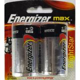 Harga Energizer Max Size D Alkaline Battery 2 Pcs Original