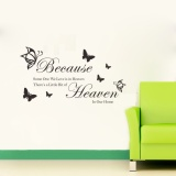 Diskon English Sentences Removable Wall Decals Decorative Wall Stickers Intl Oem