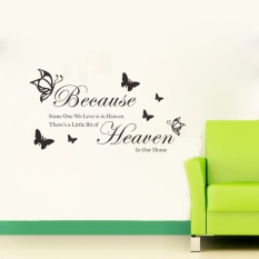 Toko Jual English Sentences Removable Wall Decals Decorative Wall Stickers Intl