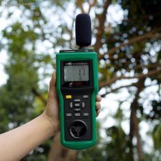 [DARI JAKARTA] Environment Tester MASTECH MS6300 - Ukur Suhu Kelembaban Cahaya Suara Angin Portable Meter