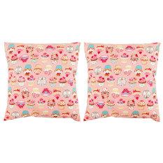 Katalog Eolins 2 Bantal Sofa Cupcakes Jsps038 Pink Terbaru