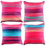 Harga Eolins 4 Sarung Bantal Sofa Motif Salur Gervais Jsps027R Rainbow Baru