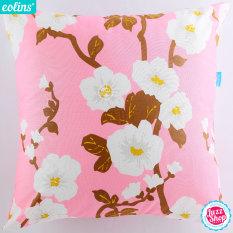 Promo Eolins Bantal Sofa Bunga Cherry Blossom Jsps083 Pink Murah